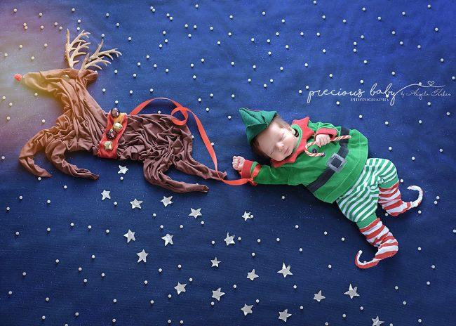 Nhiếp ảnh gia gợi ý những ý tưởng chụp ảnh cho bé sơ sinh không đụng hàng - Ảnh 12.