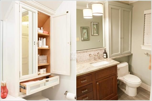 Phòng tắm nhỏ đến mấy cũng vẫn gọn gàng nhờ mẹo lưu trữ thông minh này - Ảnh 9.