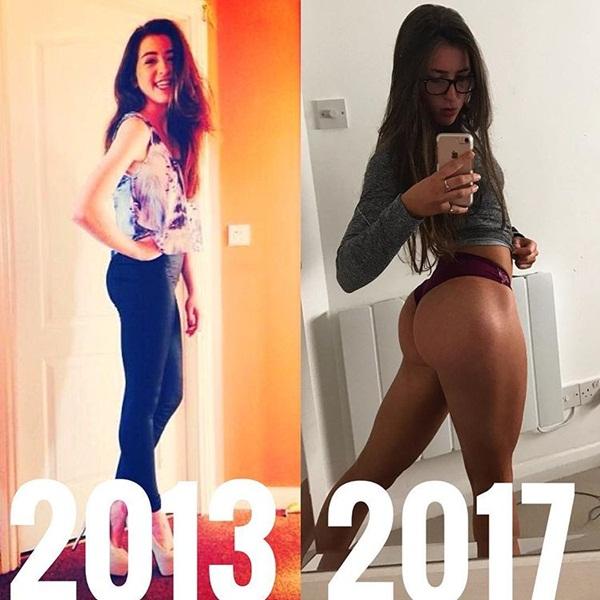 Cô gái người Anh mạnh dạn tăng cân và phá tan quan niệm giảm cân thì mới đẹp - Ảnh 1.