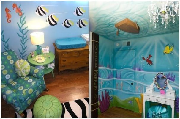 10 gợi ý tuyệt vời trang trí phòng bé lấy cảm hứng từ đại dương - Ảnh 2.