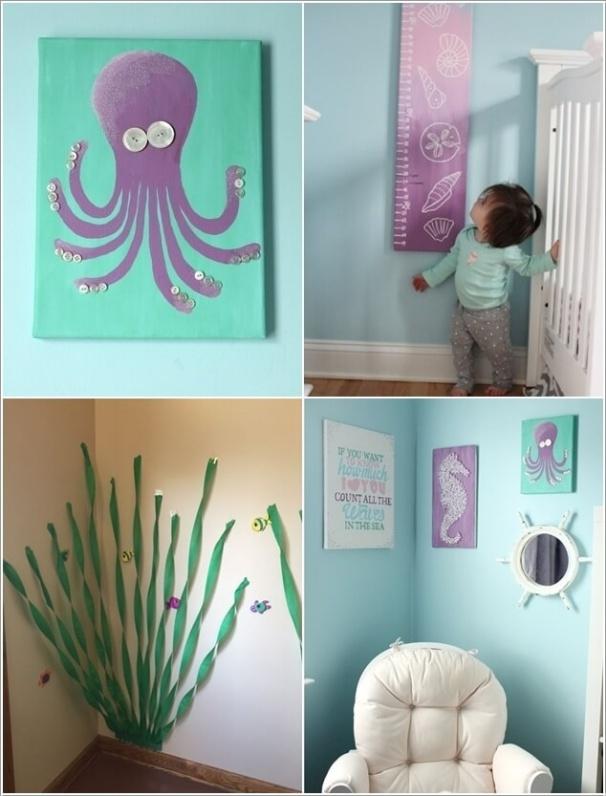10 gợi ý tuyệt vời trang trí phòng bé lấy cảm hứng từ đại dương - Ảnh 4.