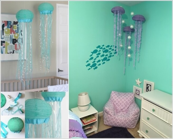 10 gợi ý tuyệt vời trang trí phòng bé lấy cảm hứng từ đại dương - Ảnh 7.