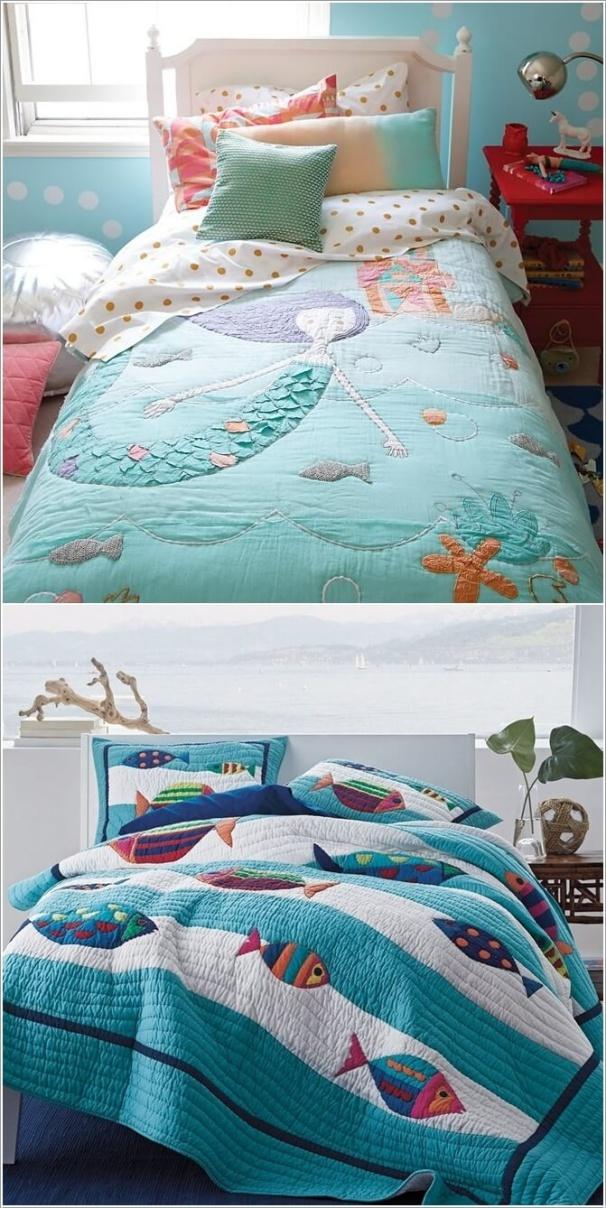 10 gợi ý tuyệt vời trang trí phòng bé lấy cảm hứng từ đại dương - Ảnh 8.