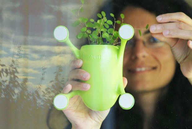 Những nông dân thành phố sẽ thích mê chậu cây treo Livi vừa xinh xắn vừa tiết kiệm diện tích - Ảnh 2.