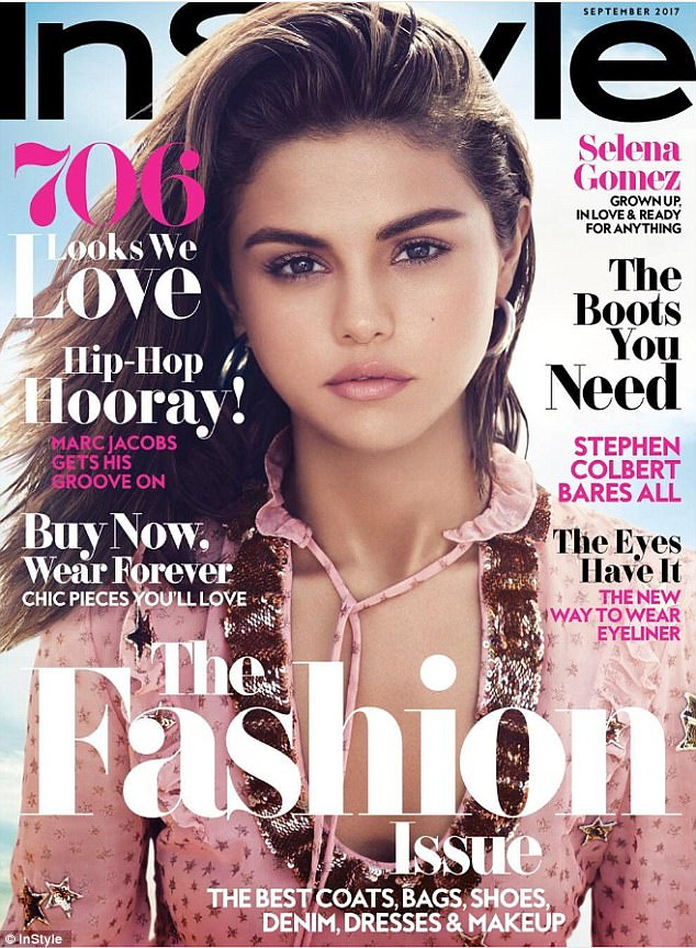 Selena Gomez nóng bỏng từng đường cong, tiết lộ chuyện coi người yêu như bạn thân - Ảnh 1.