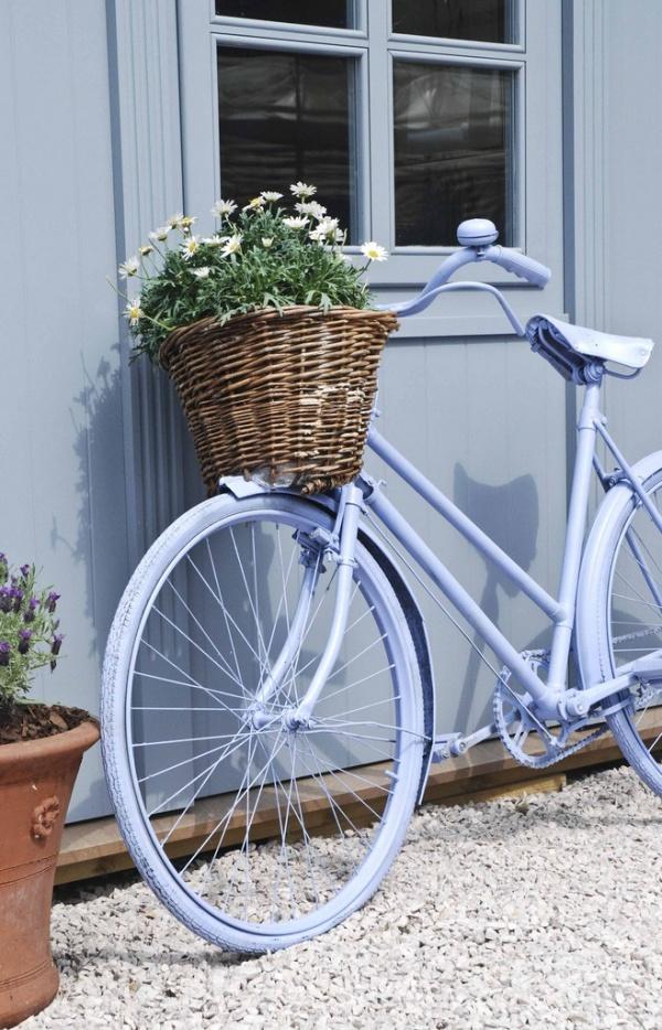 Những ý tưởng trang trí vườn tuyệt hay với xe đạp cũ bạn sẽ rất tiếc nếu biết quá muộn - Ảnh 8.