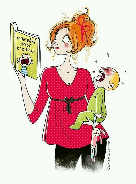 Bộ tranh siêu hài hước phơi bày đủ những sự thật bi hài khi làm mẹ - Ảnh 8.