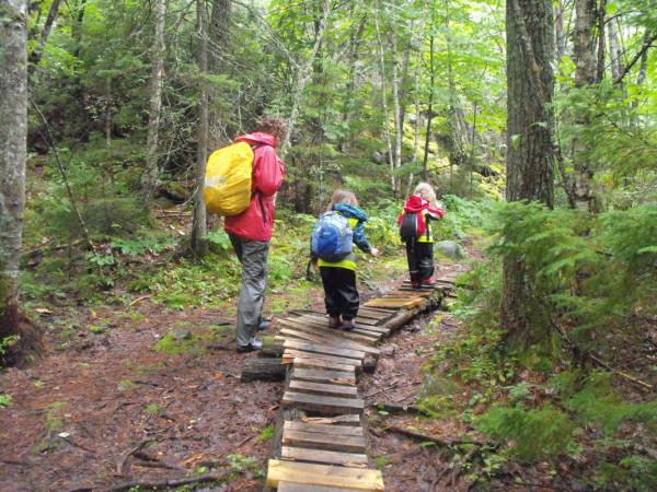 Chơi đùa và leo trèo trong rừng - Đây là cách trẻ em Đức đi học mẫu giáo - Ảnh 2.