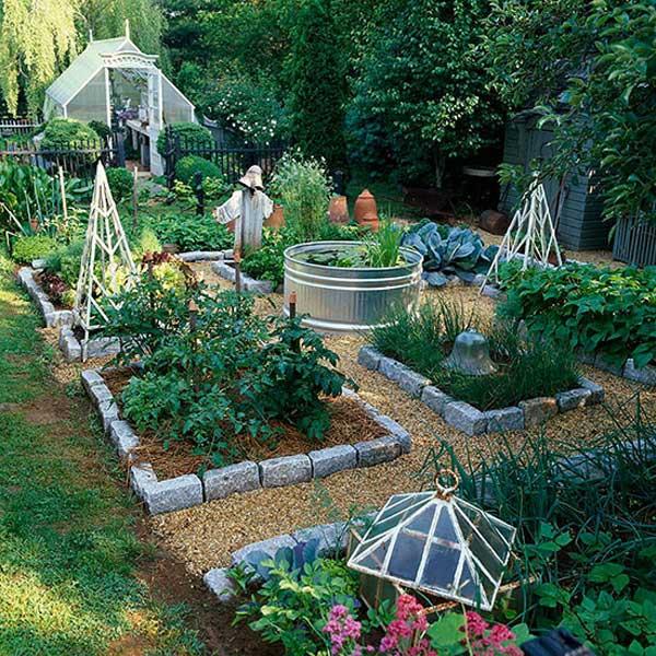 Tham khảo ngay những cách sáng tạo này để biến mảnh đất trống thành vườn rau đẹp mắt - Ảnh 5.