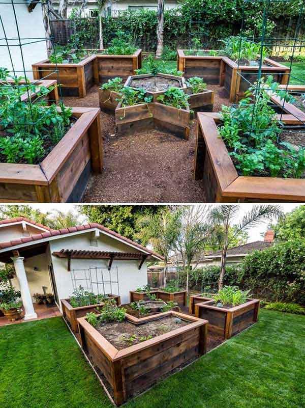 Tham khảo ngay những cách sáng tạo này để biến mảnh đất trống thành vườn rau đẹp mắt - Ảnh 14.