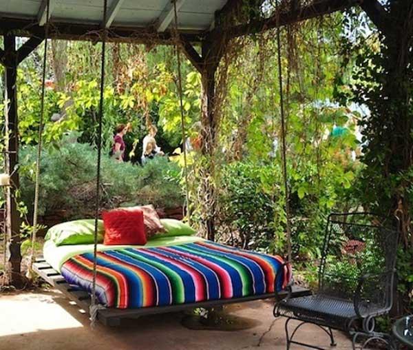 Góc sân vườn đón thu đẹp dịu dàng và lãng mạn khi được trang trí theo phong cách Bohemian - Ảnh 13.