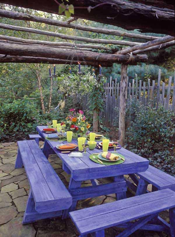Góc sân vườn đón thu đẹp dịu dàng và lãng mạn khi được trang trí theo phong cách Bohemian - Ảnh 14.