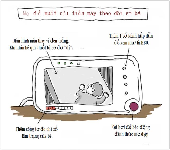 Bộ tranh hài hước lột tả cuộc sống chân thực sau khi có con chỉ cha mẹ mới hiểu - Ảnh 12.