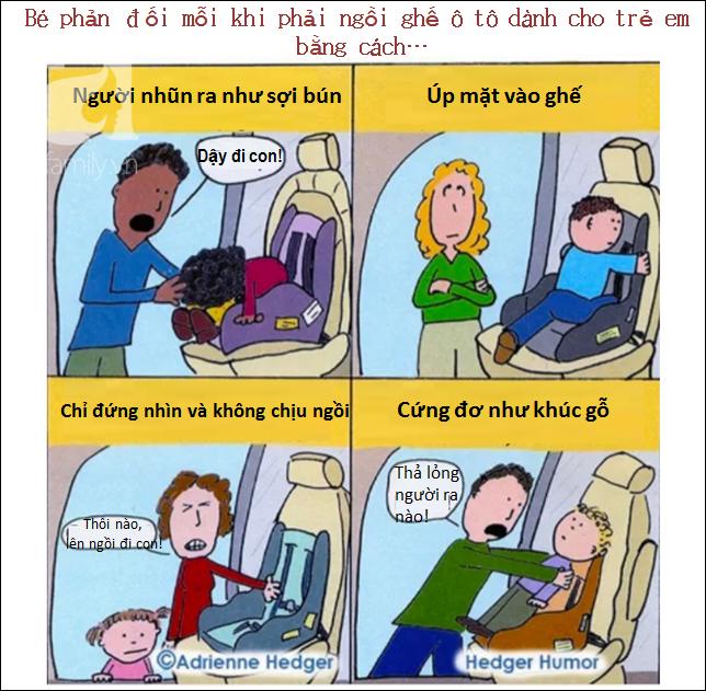 Bộ tranh hài hước lột tả cuộc sống chân thực sau khi có con chỉ cha mẹ mới hiểu - Ảnh 13.