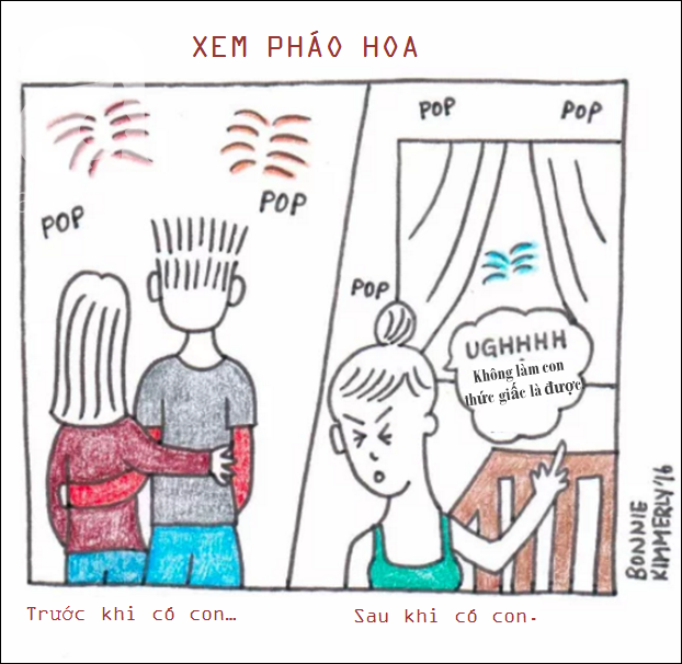 Bộ tranh hài hước lột tả cuộc sống chân thực sau khi có con chỉ cha mẹ mới hiểu - Ảnh 17.