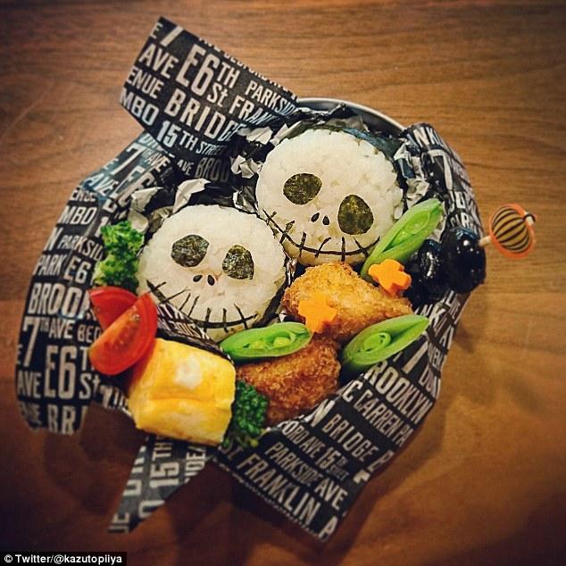 Những hộp cơm bento cho trẻ theo chủ đề Halloween vô cùng đáng yêu - Ảnh 3.