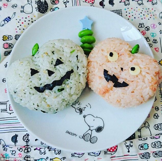 Những hộp cơm bento cho trẻ theo chủ đề Halloween vô cùng đáng yêu - Ảnh 5.