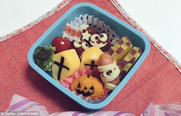 Những hộp cơm bento cho trẻ theo chủ đề Halloween vô cùng đáng yêu - Ảnh 6.