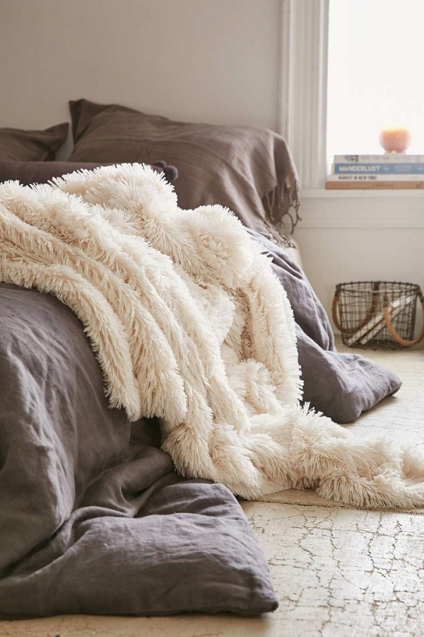 Những không gian phòng ngủ đẹp quyến rũ không thể không yêu khi được trang trí với màu xám  - Ảnh 6.