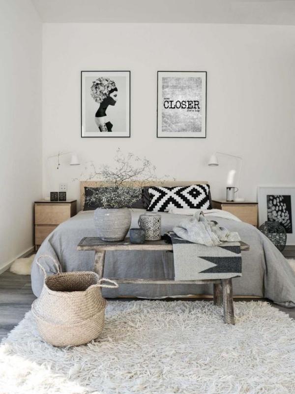 Những không gian phòng ngủ đẹp quyến rũ không thể không yêu khi được trang trí với màu xám  - Ảnh 7.