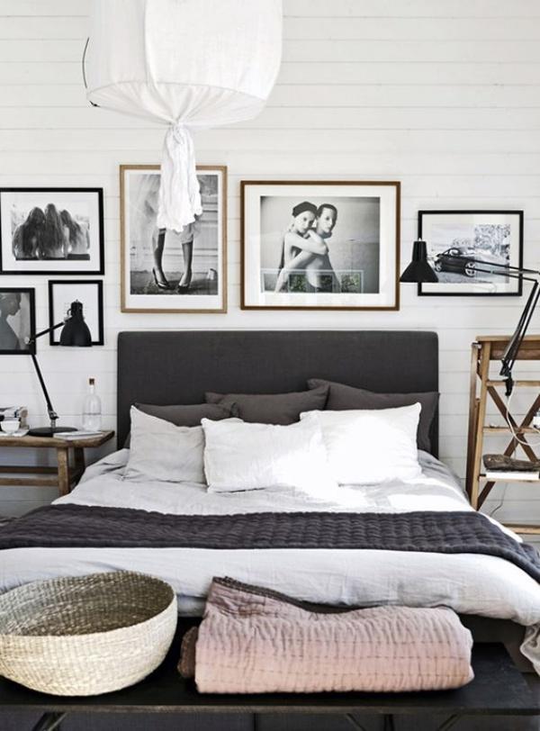 Những không gian phòng ngủ đẹp quyến rũ không thể không yêu khi được trang trí với màu xám  - Ảnh 8.