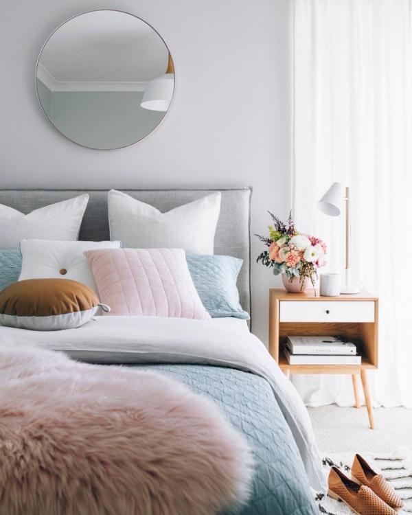 Những không gian phòng ngủ đẹp quyến rũ không thể không yêu khi được trang trí với màu xám  - Ảnh 10.