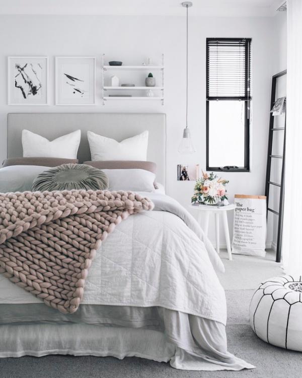 Những không gian phòng ngủ đẹp quyến rũ không thể không yêu khi được trang trí với màu xám  - Ảnh 11.