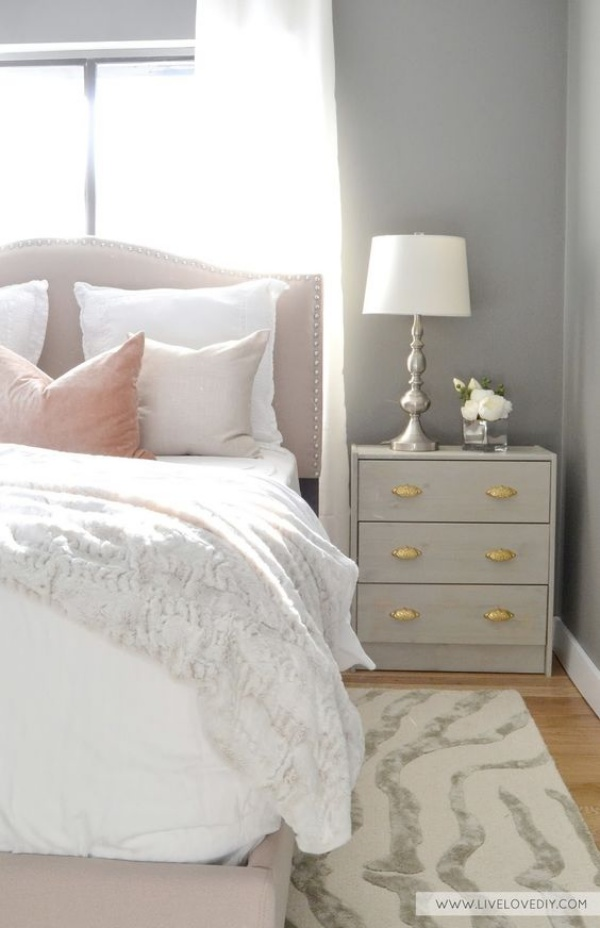 Những không gian phòng ngủ đẹp quyến rũ với gam màu xám không thể không yêu  - Ảnh 3.