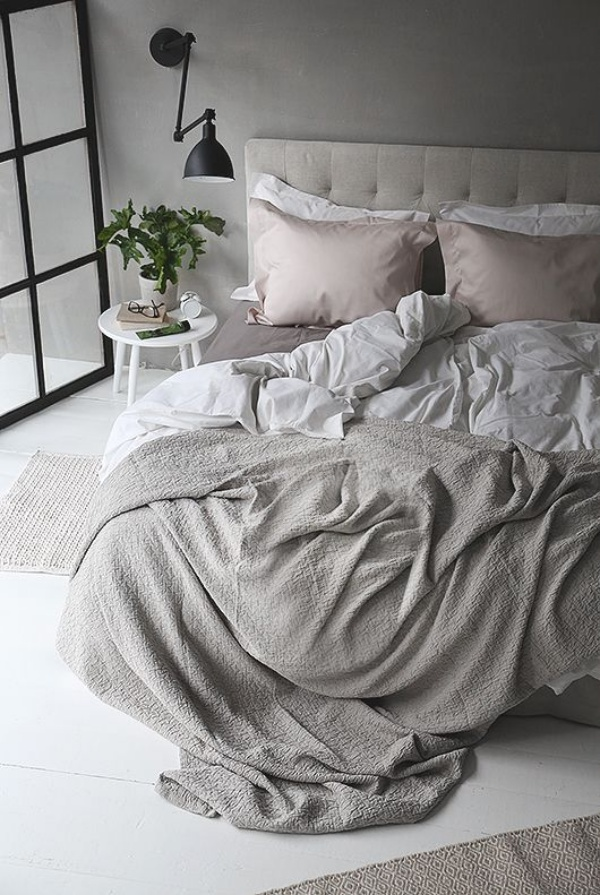 Những không gian phòng ngủ đẹp quyến rũ với gam màu xám không thể không yêu  - Ảnh 5.