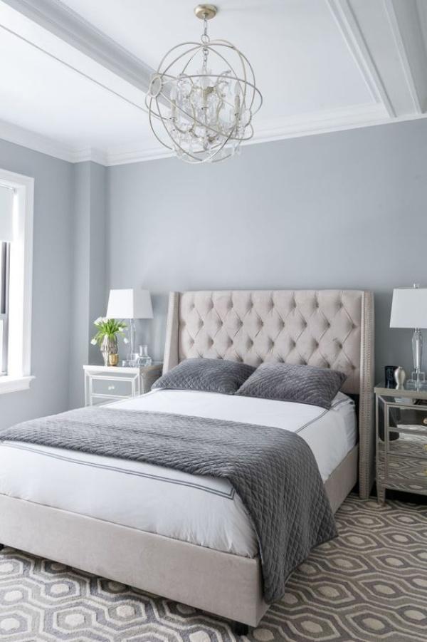 Những không gian phòng ngủ đẹp quyến rũ với gam màu xám không thể không yêu  - Ảnh 7.
