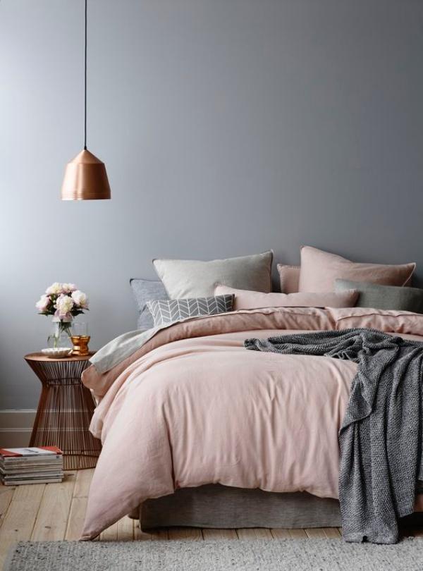 Những không gian phòng ngủ đẹp quyến rũ với gam màu xám không thể không yêu  - Ảnh 9.