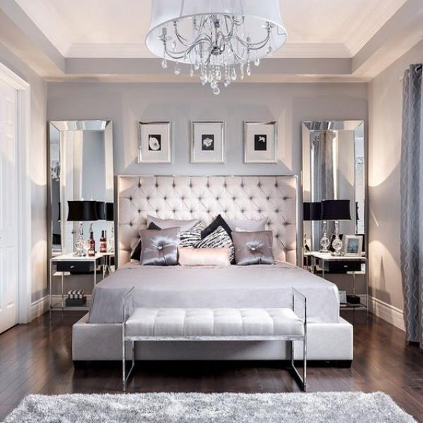 Những không gian phòng ngủ đẹp quyến rũ với gam màu xám không thể không yêu  - Ảnh 10.