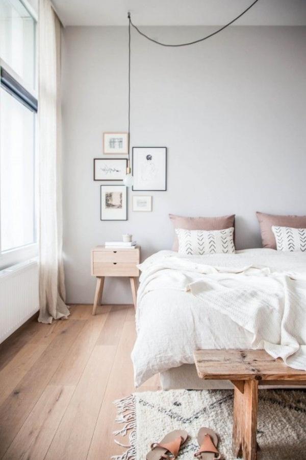 Những không gian phòng ngủ đẹp quyến rũ với gam màu xám không thể không yêu  - Ảnh 11.