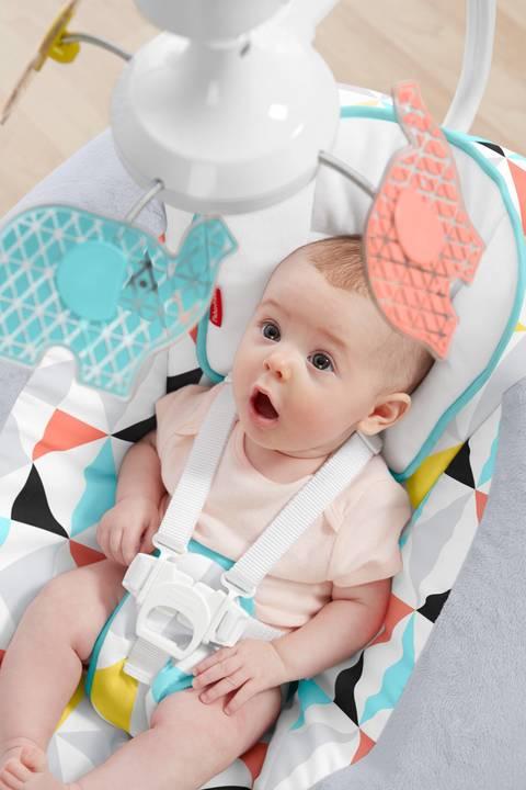 Có chiếc ghế rung thông minh này, bố mẹ sẽ chẳng bao giờ phải lo ru con ngủ nữa - Ảnh 4.