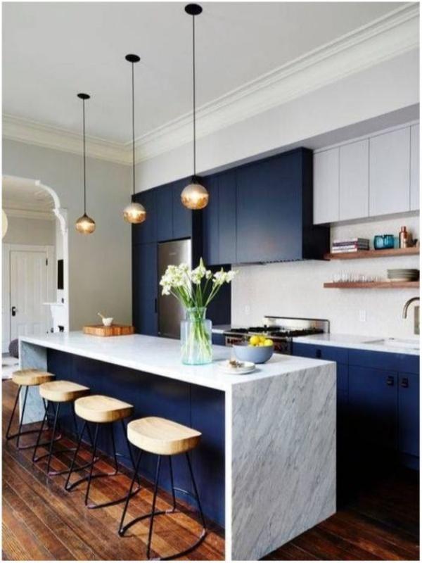 Xu hướng thiết kế hai tông màu cho căn bếp được triệu người ưa chuộng - Ảnh 3.
