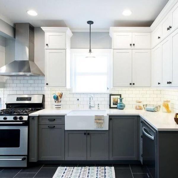 Xu hướng thiết kế hai tông màu cho căn bếp được triệu người ưa chuộng - Ảnh 5.