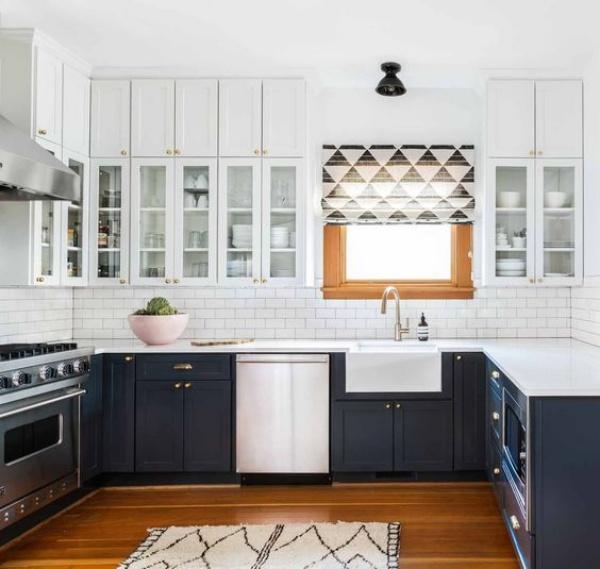 Xu hướng thiết kế hai tông màu cho căn bếp được triệu người ưa chuộng - Ảnh 12.