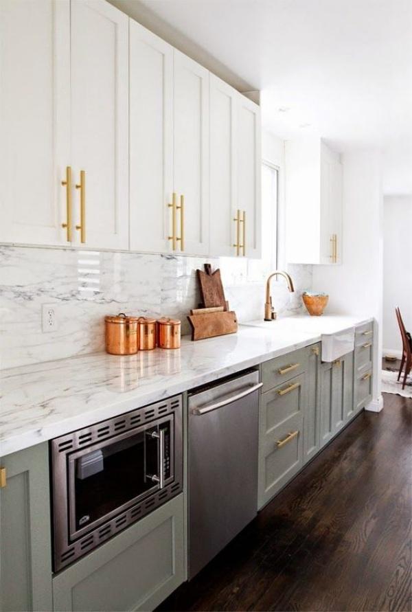 Xu hướng thiết kế hai tông màu cho căn bếp được triệu người ưa chuộng - Ảnh 13.
