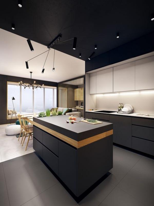 Xu hướng thiết kế hai tông màu cho căn bếp được triệu người ưa chuộng - Ảnh 14.