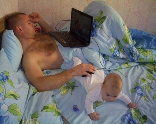 Đây là lý do vì sao những đứa trẻ luôn thích thú mỗi khi được bố trông - Ảnh 2.