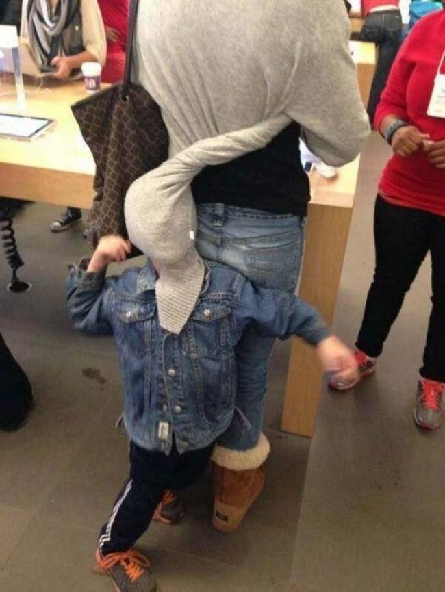 Chùm ảnh chứng minh: Đưa con đi siêu thị là công việc chỉ dành cho những cha mẹ… dũng cảm - Ảnh 6.