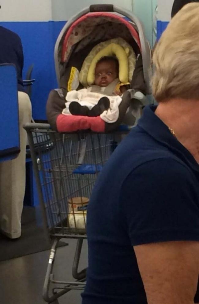 Chùm ảnh chứng minh: Đưa con đi siêu thị là công việc chỉ dành cho những cha mẹ… dũng cảm - Ảnh 8.