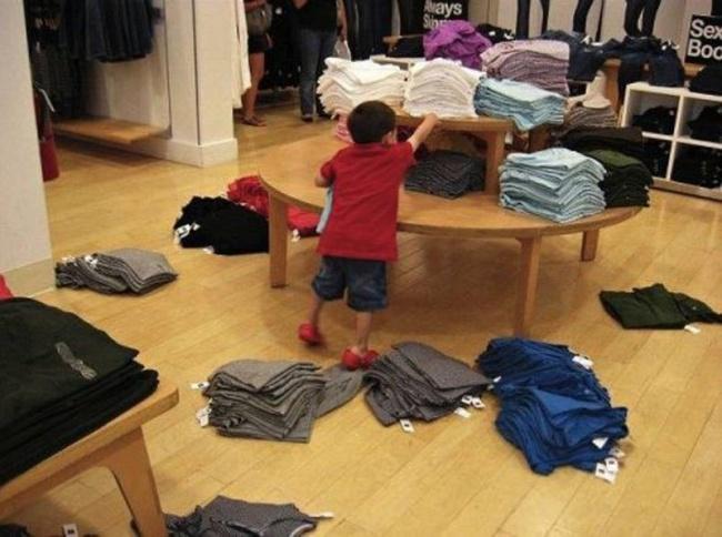 Chùm ảnh chứng minh: Đưa con đi siêu thị là công việc chỉ dành cho những cha mẹ… dũng cảm - Ảnh 13.