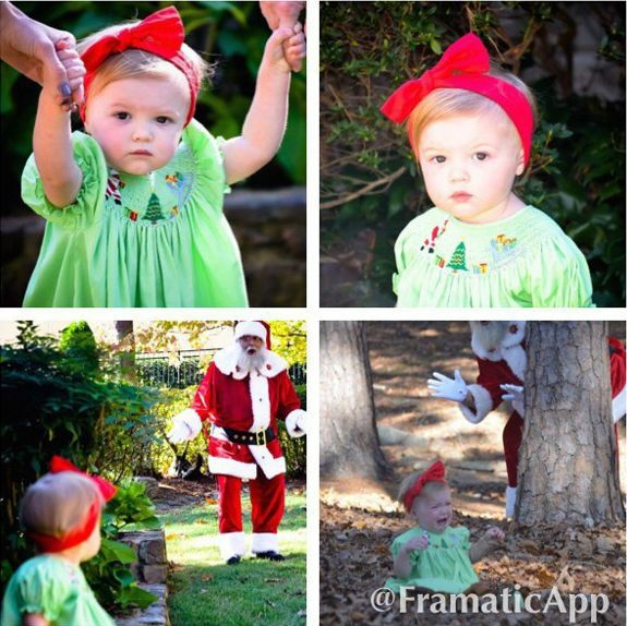 """Những khoảnh khắc """"cười ra nước mắt""""  vì không phải bé nào cũng thích Noel như cha mẹ vẫn nghĩ - Ảnh 3."""