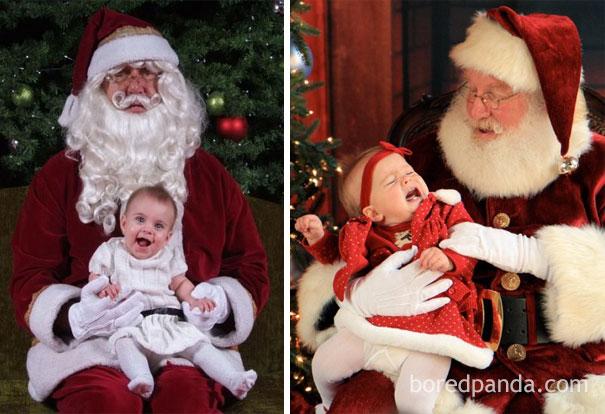 """Những khoảnh khắc """"cười ra nước mắt""""  vì không phải bé nào cũng thích Noel như cha mẹ vẫn nghĩ - Ảnh 22."""