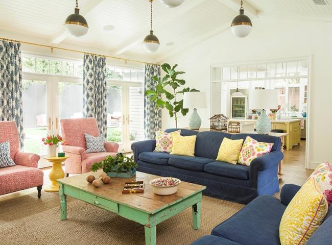 Ngôi nhà đầy màu sắc trang trí theo phong cách Bohemian độc đáo đầy tươi trẻ - Ảnh 1.