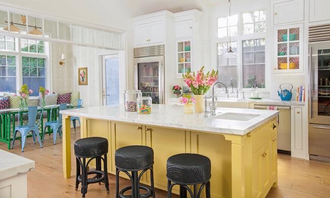 Ngôi nhà đầy màu sắc trang trí theo phong cách Bohemian độc đáo đầy tươi trẻ - Ảnh 5.