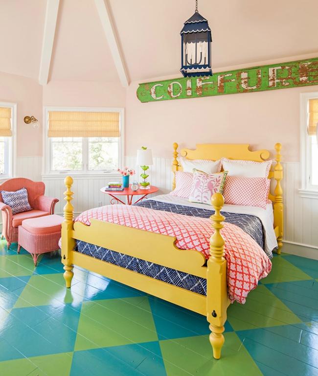 Ngôi nhà đầy màu sắc trang trí theo phong cách Bohemian độc đáo đầy tươi trẻ - Ảnh 9.