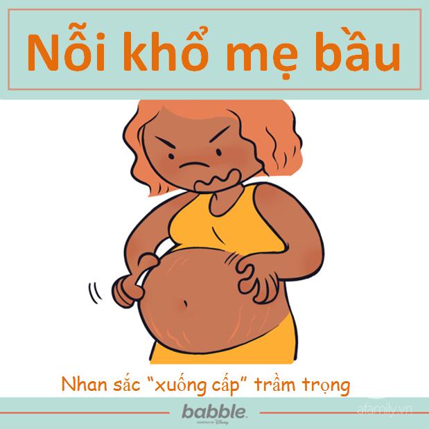 """Có những """"nỗi khổ"""" khi mang thai chỉ mẹ bầu mới hiểu - Ảnh 2."""
