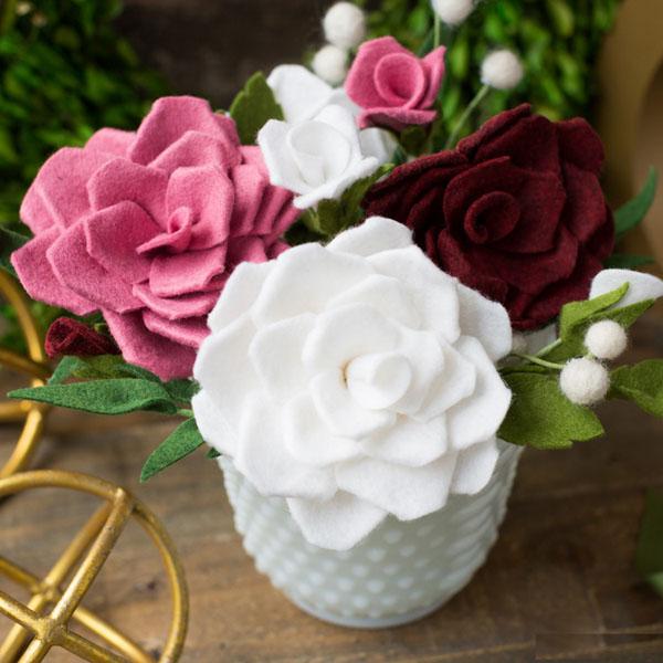 Cách làm hoa hồng giả đẹp như thật không bao giờ tàn - Ảnh 10.